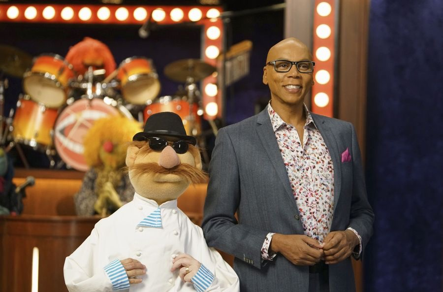 """THE MUPPETS""- SWEDISH CHEF, RUPAUL.  JOYCE KIM LEE, COSTUME DESIGNER."