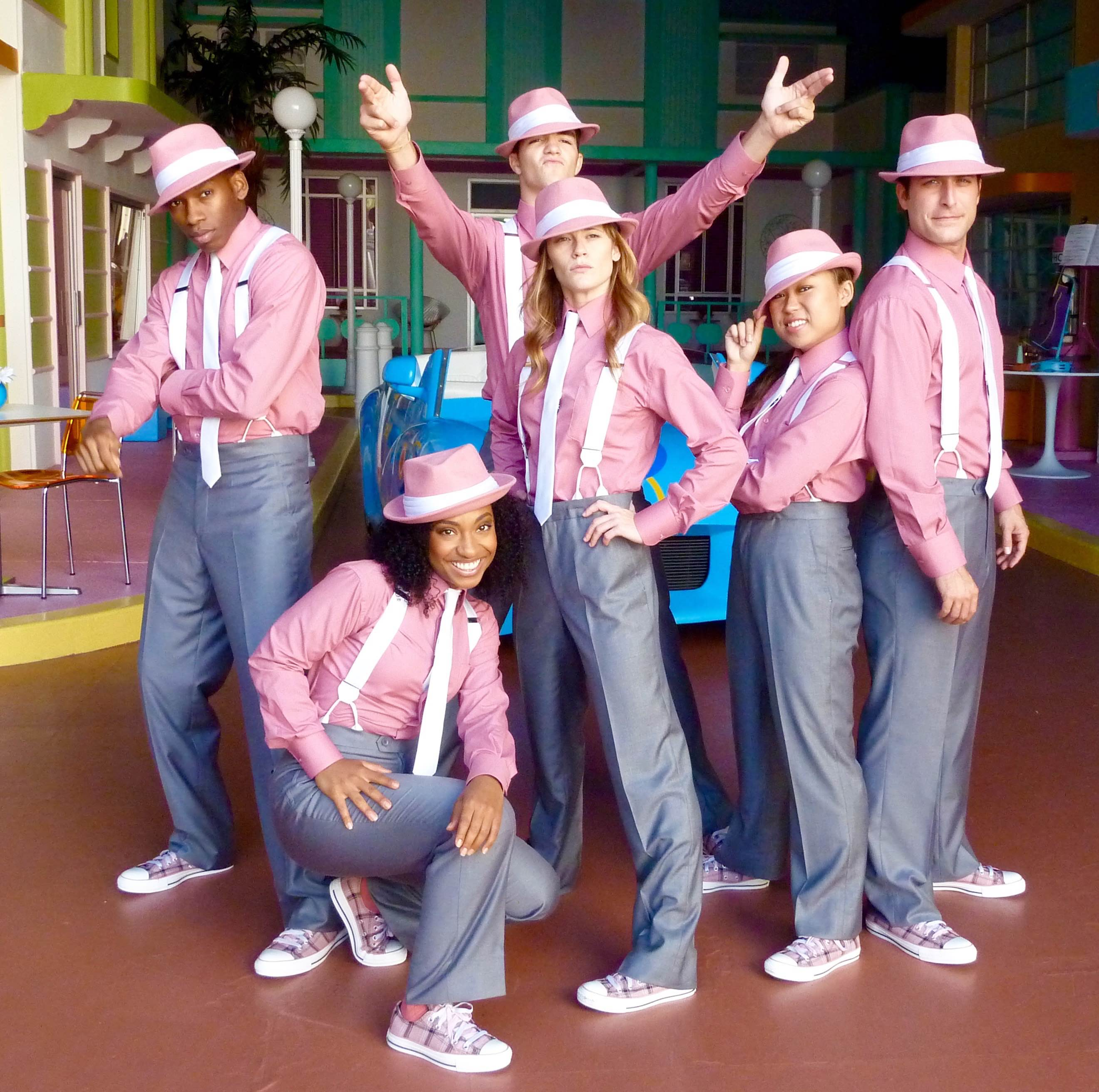 "THE FRESH BEAT BAND-""BAND IN A JAM""-JOYCE KIM LEE, COSTUME DESIGNER"