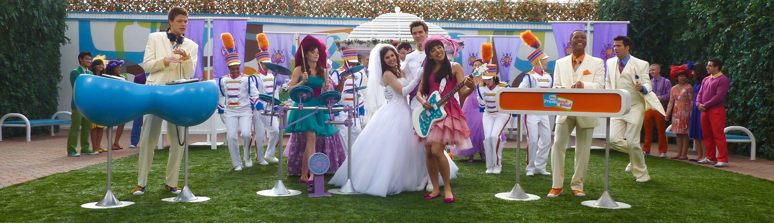 "THE FRESH BEAT BAND-""ROYAL WEDDING""-JOYCE KIM LEE, COSTUME DESIGNER"