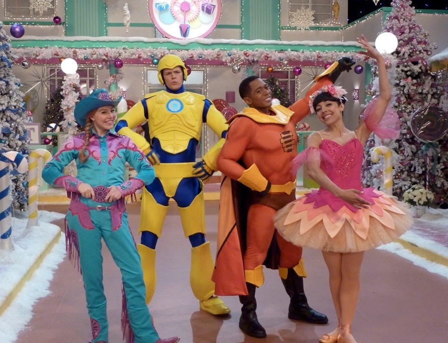 "THE FRESH BEAT BAND-""FRESH BEATS IN TOYLAND""-JOYCE KIM LEE, COSTUME DESIGNER"