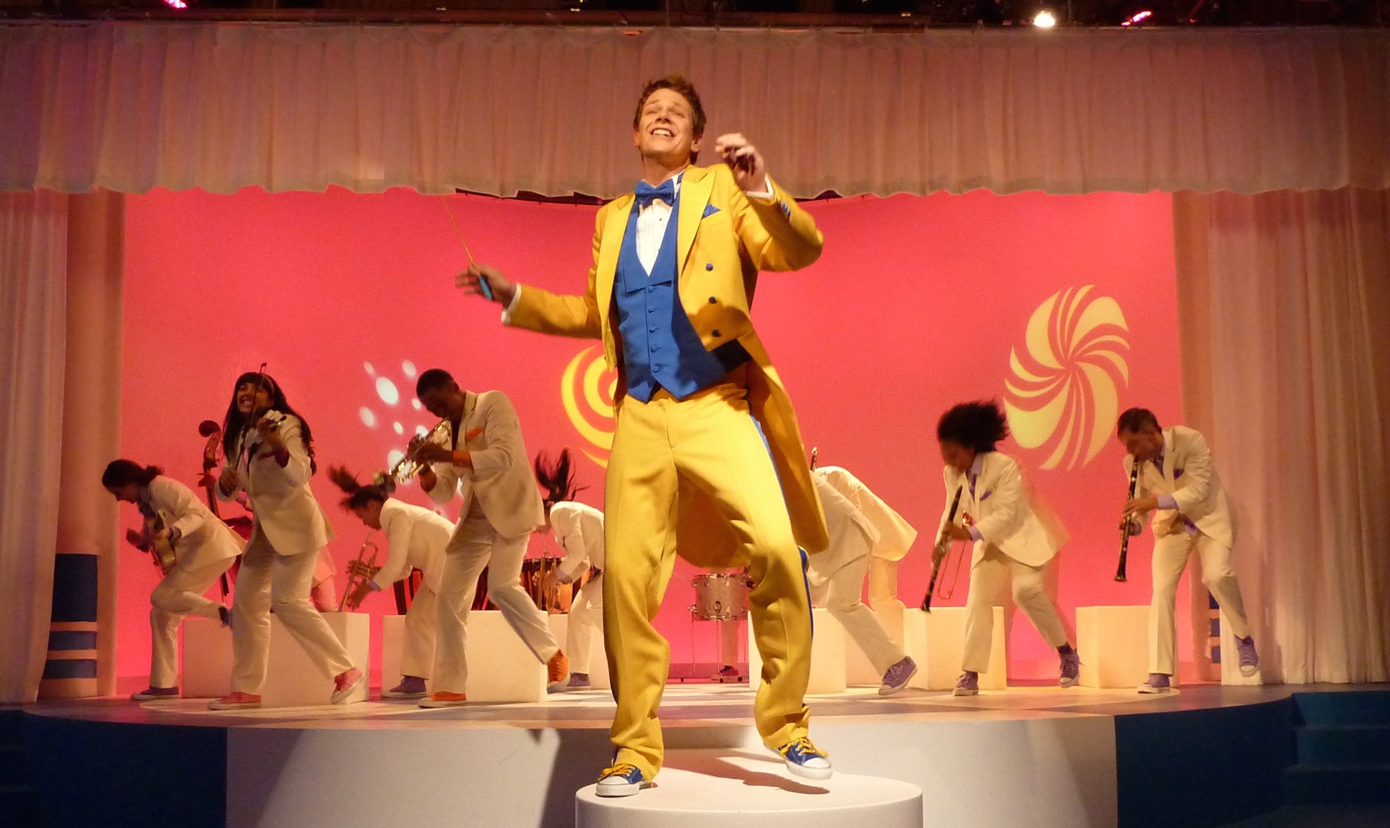 "THE FRESH BEAT BAND-""FOLLOW THE LEADER""-JOYCE KIM LEE, COSTUME DESIGNER"